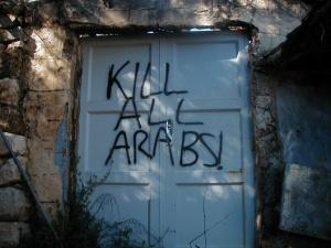 Botschaft jüdischer Siedler in Hebron