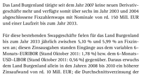 Burgenland loser