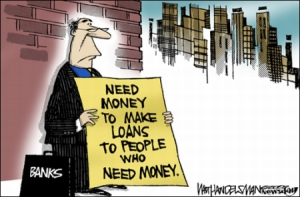 loaning money you dont have