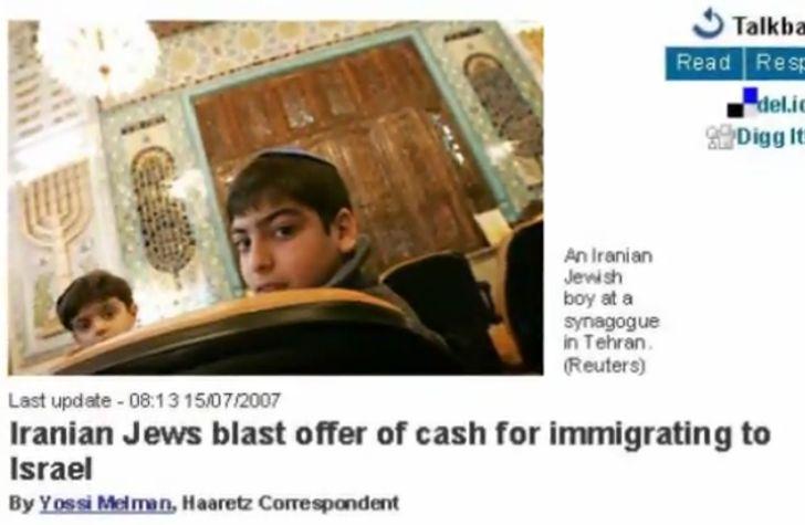 1 Iran Jews Haaretz