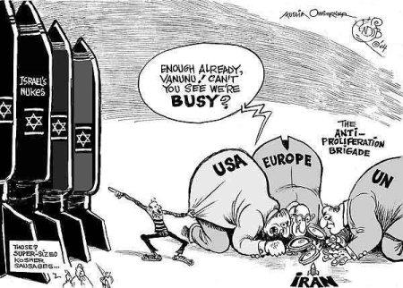 Israel-Iran Nuclear-arsenal
