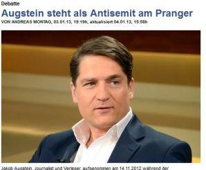 MDZ Augstein am Pranger
