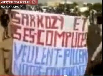 1 Bamako pro Gaddafi demo PILLER