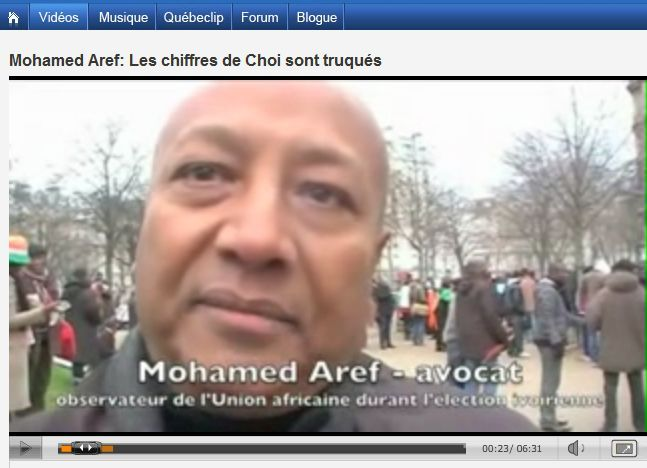 1 M Aref election observer AU