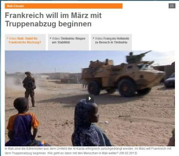 1 Mali speak ZDF heute