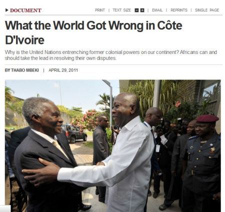1 What the world got wrong Mbeki