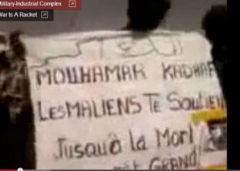 1a Bamako pro-Gaddafi demo