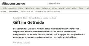 1 Süddeutsche GLY