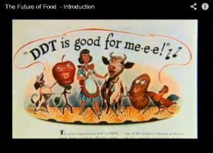 Werbespot für DDT aus den 1960er Jahren ...