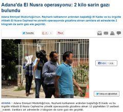 1 Radikal report sarin gas nusra