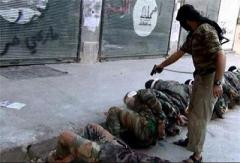 execution of syrian soldiers