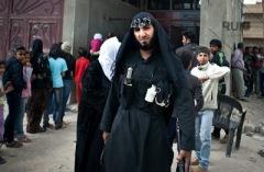 Jabhat al-Nusra fighter CW grenade