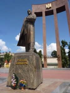 Bandera Monument Lviv