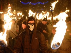 Kruty torchlight march 2011