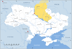 Gebiet unter russischer Kontrolle