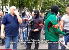 false pro-russian PS impersonators among their partners in crime