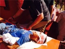 Bakir Boy killed on Gaza beach