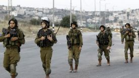 IDF West Bank crackdown