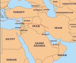 Iran-Iraq-Syria pipeline Pars