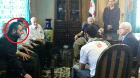 McCain with Badr al Baghdadi May 2013