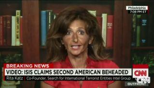 Rita Katz on CNN