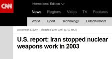 Iran stopped Nuclear Program