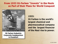 IG Farben finances Hitler