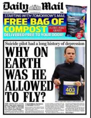 Daily Mail mad pilot insinuation