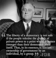 fascism Roosevelt