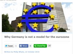Germany no model for EMU  CEF