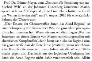 Günter Meyer gefälschte Beweise USA