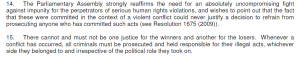 -EC report lawlessness Kosovo