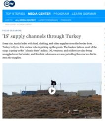 DW supply lines Turkey