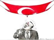 Erdogan blood stained