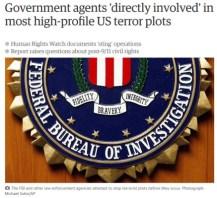 false terror plots