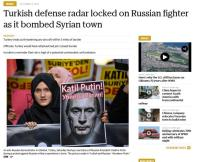 McClatchy Russan jet Turkish border Oct 5
