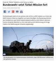 Patriotraketen für Türkei