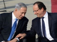 best buddies Hollande Netanyahu
