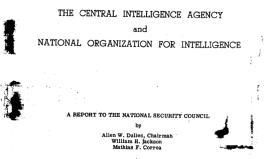 Dulles Correa Jackson Report 1949