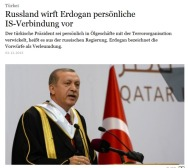 FAZ  oilsmuggle to Turkey spin