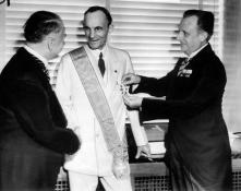 Henry Ford the Grand Cross of the German Eagle  1938