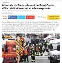 je brule crime Saint Denis