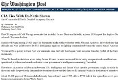 WaPo CIA Nazi Networks