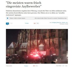 Asylbewerber claim Welt