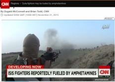 CNN captagon syrian rebels
