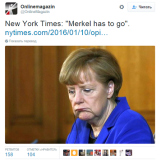 Merkel has to go