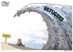 refugee wave