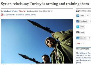 Syrian rebels say Turkey our friend