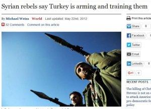 Syrian rebels say Turkey our friend