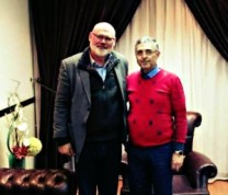 ali haider with rev ashdown